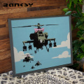 Banksy バンクシー Helicopters アート 絵画 風刺画 IBA-61737