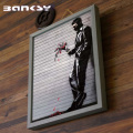 Banksy バンクシー Wither アート 絵画 風刺画 IBA-61734