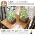 イミテーショングリーン フェイクグリーン 和盆栽 消臭アーティフィシャルグリーン カネノナルキ