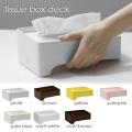 ティッシュボックス(tissuebox) デッキ(deck) イデアコ(ideaco)