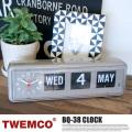 掛時計 BQ-38 ウォール&テーブルクロック BQ-38 WALL&TABLE CLOCK 3101  トゥエンコ TWEMCO