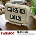QD-35 WALL&TABLE CLOCK(クロック) TWEMCO(トゥエンコ) GRAY