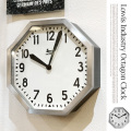 Lowis Industry Octagon Clock 掛け時計