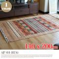 アフガニスタン手織緞通 AF-D3-RUG 140x200cm
