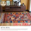 アフガニスタン手織緞通 AF-D4-RUG 140x200cm