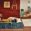 ラグ BAT NO.2 rug 200×200cm 絨毯 じゅうたん カーペット アウトドアラグ