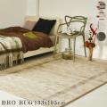 ラグ BRO rug 160×230cm マット 絨毯 じゅうたん カーペット