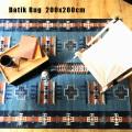 ラグバティックラグ 200x200マット 絨毯 じゅうたん カーペット
