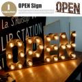 サインランプ オープン Sign Lamp OPEN AW-0403V テーブルスタンド アートワークスタジオ ART WORK STUDIO