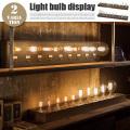 ライトバルブディスプレイ Light bulb display BU-1001・BU-1002 テーブルスタンド アートワークスタジオ ART WORK STUDIO