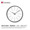 掛時計 時計台の時計 ライン Line Wall clock KK13-16 C タカタレムノス Lemnos