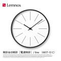 掛時計 時計台の時計 ライン Line Wall clock KK17-13 C タカタレムノス Lemnos