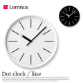 掛時計 ドットクロック ライン Dot clock line KK15-13 タカタレムノス Lemnos