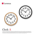 クロックA Clock A YK14-05 レムノス Lemnos 掛け時計