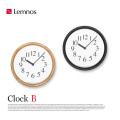 クロックB Clock B YK14-06 レムノス Lemnos 掛け時計