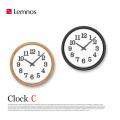 クロックC Clock C YK15-02 レムノス Lemnos 掛け時計