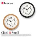 クロックBスモール Clock B Small YK15-04 レムノス Lemnos 掛け時計