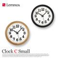 クロックCスモール Clock C Small YK15-05 レムノス Lemnos 掛け時計
