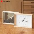 掛け時計 カエデ 掛け置き兼用時計 掛け時計 置き時計 ウォールクロック