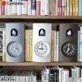 掛け置き時計 ブックゥ ハト時計 レムノス Lemnos