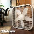 ラスコ 3733 ボックスファン(LASKO BOXFAN) レギュラー 扇風機 ホワイト 送料無料