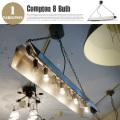 ペンダントライト コンプトンランプ8バルブ COMPTON 8 BULB CM-007  ハモサ HERMOSA