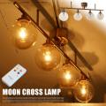 MOON4 LAMP(ムーン4ランプ) GS-013IRNGD リモコン付  ハモサ 送料無料