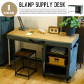 GLAMP SUPPLY DESK HGS-003 HERMOSA カーキ 送料無料