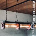 照明 ウッドシリンダーランプ ペンダントライト 天井照明