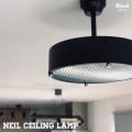 照明 ニールシーリングランプ ブラック シーリングライト ペンダントライト 天井照明