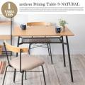 オークテーブル 90×60×72cm アンセム ダイニングテーブルS ANT-2831NA 送料無料