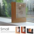 ウッドフォトフレーム small (Wood Photo Frame)  LOS003-NW/LOS003-DW/LOS003-CW フォトフレーム 写真立て イデア IDEA L版 木製