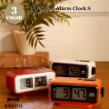 LCDレトロアラームクロック S Retro alarm clok S BCR003 置き時計 イデアレーベル IDEA LABEL