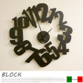 BLOCK(ブロック) 掛け時計 アルティ・エ・メスティエリ(ARTI&MESTIERI)