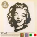 DIVA(ディーヴァ)掛時計 アルティ・エ・メスティエリ 全3色 送料無料