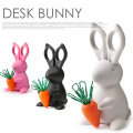 はさみ&クリップホルダー DESK BUNNY Scissors&Clip holder