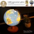 LED地球儀 直径20cm ACT-LED-20 全2タイプ