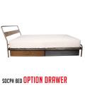 ソコフ ベッド オプションドロワー socph bed option drawer SCP-BED-DRW アデペシュ