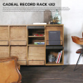 アデペシュ a depeche カデル レコードラック 4×2 収納家具