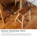 アデペシュ アカシアレクタングルスツール acacia rectangle stool