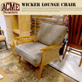 WICKER LOUNGE CHAIR ACME