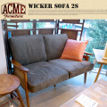 WICKER SOFA 2S ACME