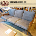 WICKER SOFA 3S ACME