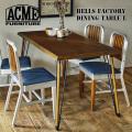 ベルズ ファクトリー ダイニングテーブル L 1500 ACME Furniture