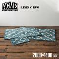 ラグ ラインズ ラグ 2000×1400 絨毯 じゅうたん カーペット
