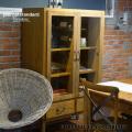 収納 クリスティーガラスキャビネット 食器棚