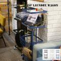 収納 ランドリーワゴン バスケットセット 洗濯カゴ 洗濯ワゴン