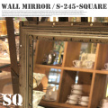 Wall mirror SQUARE  S245-22S  鏡・ミラー ダルトン