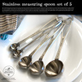 Stainless measuring spoon set of 5 DULTON'S