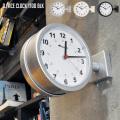 壁掛け時計 ダブルフェイスクロック 両面時計 ウォールクロック 時計 かけ時計